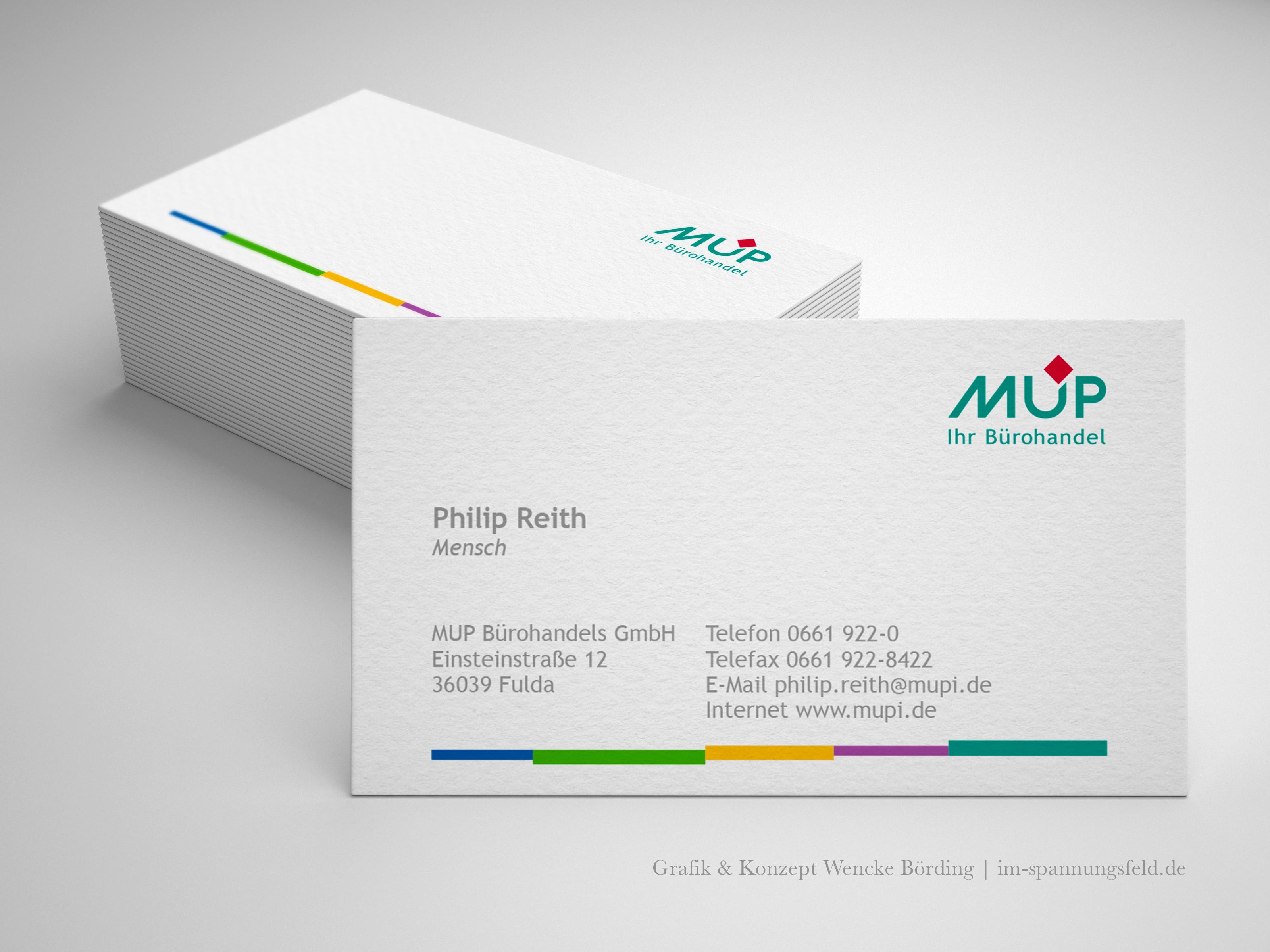 Re-Design | Logodesign für MUP Bürohandel