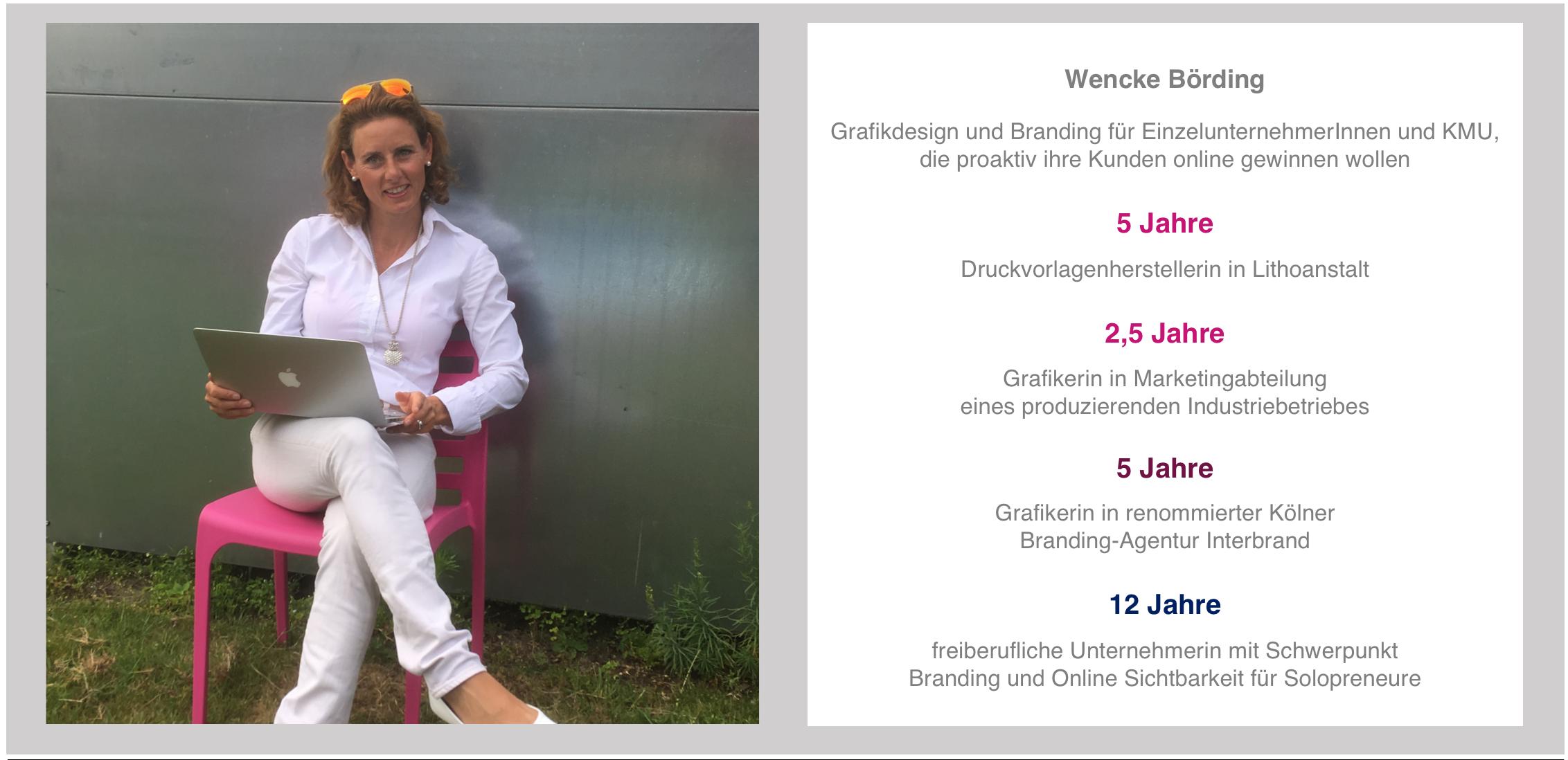 dieMarkenmacher.in | Grafikdesignerin Wencke Börding