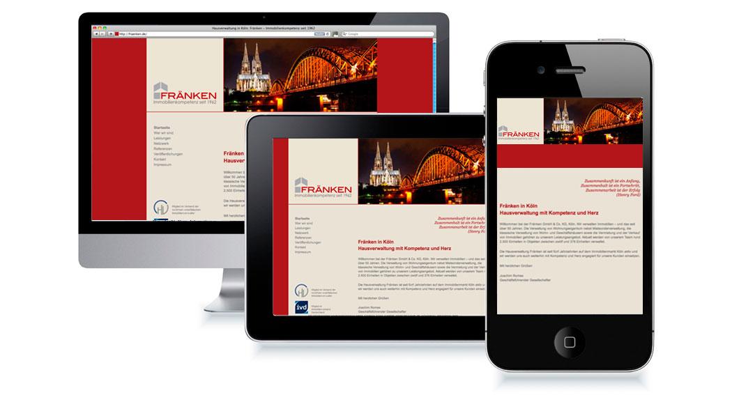 responsive Webdesign Wencke Börding